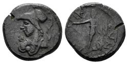 Ancient Coins - Phrygia, Laodikeia ad Lycum. Time of Domitian. 81-96 AD. AE 13mm (2.02 gm). RPC Online 1298
