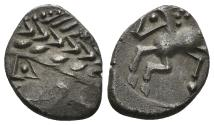 Ancient Coins - Gaul, Southern. Allobroges. Circa 80 BC. AR Drachm (2.30 gm, 15mm). D&T 3117