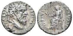 Ancient Coins - Pertinax. 193 AD. AR Denarius (2.97 gm, 17mm). Alexandria mint. RIC IV 8a; RSC 33a