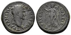 Ancient Coins - Lydia. Stratonikeia-Hadrianopolis. Trajan. 98-117 AD. AE 20mm (6.03 gm). RPC Online 1773