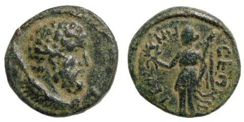 Ancient Coins - Pisidia, Termessos Major. Imperial Times 2nd century AD. AE 14mm (2.05 gm). Cf. SNG France 2152