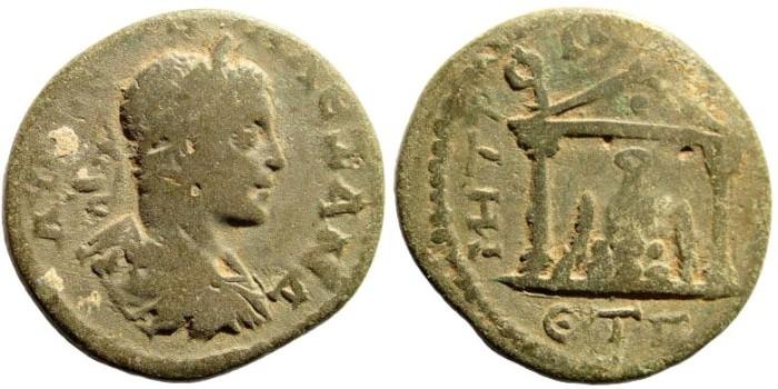 Ancient Coins - Cappadocia, Caesarea. Severus Alexander. 222-235 AD. AE 26mm (11.15 gm). Dated regnal year 3, 226 AD. Sydenham 544