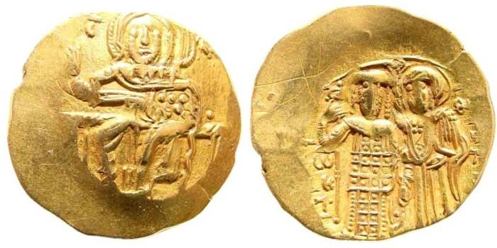 Ancient Coins - Nicaean Empire. John III, 1222-1254. AV Hyperpyron (4.25 gm, 26mm). Magnesia mint. DOC IV 5; SB 2073