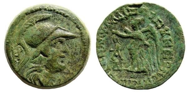 Ancient Coins - Cilicia, Seleucia ad Calycadnum. 1st century BC-1st century AD. AE 22mm (7.12 gm). SNG France 915 (same dies)