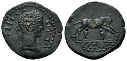 Ancient Coins - Mysia, Parium. Gallienus. 253-268 AD. AE30mm (10.33 gm). Falghera 2604 (same obv. die)