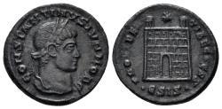 Ancient Coins - Constantine II. As Caesar, 316-337 AD. AE Nummus (2.44 gm, 19mm). Siscia mint, 326-327 AD. RIC 202