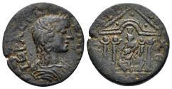 Ancient Coins - Karia. Antiocheia. 3rd century AD. AE 20mm (5.07 gm). BMC 24, pl. III, 9 (same dies)