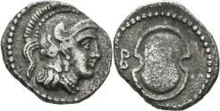 Ancient Coins - Kilikia, Tarsos. Balakros. 333-323 BC. AR Obol (0.79 gm, 11mm). SNG France 123