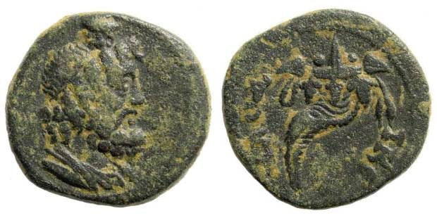 Ancient Coins - Phrygia, Laodicea. Time of Caracalla, early 2nd century AD. AE 21mm (4.94 gm). SNG Copenhagen 543