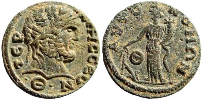 Ancient Coins - Pisidia, Termessos. 3rd century AD. AE 26mm (12.03 gm). SNG BN Paris 2196 (same dies)