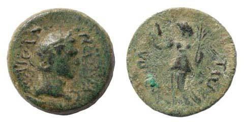 Ancient Coins - Cilicia, Hierapolis-Kastabala, Nerva, AE 16 mm