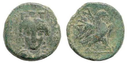 Ancient Coins - Troas, Abydos. 3rd Century BC. AE 14mm (2.51 gm). Cf. BMC pg. 5, # 40. Rare