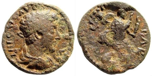 Ancient Coins - Mysia, Parion. Commodus, 177-190. AE 20mm (4.25 gm). SNG Österech 383 (same dies); Lindgren/ Kovacs 276 (same dies)
