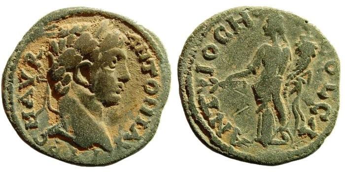 Ancient Coins - Pisidia, Antioch. Elagabalus. 218-222 AD. AE 23mm (5.14 gm). SNG France 1176