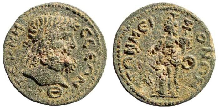 Ancient Coins - Pisidia, Termessos. 3rd century AD. AE 30mm (13.76 gm). SNG BN Paris 2191 (same obverse die)