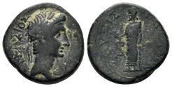 Ancient Coins - Phrygia, Laodikeia ad Lycum. Augustus, 27 BC-14 AD. AE 18mm (5.10 gm). RPC I 2893