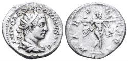 Ancient Coins - Elagabalus. 218-222 AD. AR Antoninianus (4.72 gm, 22mm). Rome mint. Struck 219 AD. RIC IV 120