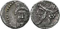 Ancient Coins - Kilikia uncertain. Circa 400-350 BC. AR Obol (0.64 gm, 11mm). SNG France 485. Rare