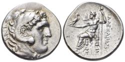 Ancient Coins - Macedonian Kingdom. Kassander - Antigonos II Gonatas. Circa 310-275 BC. AR Tetradrachm (17.00 gm, 30mm). Price 844