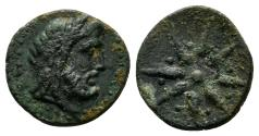 Ancient Coins - Asia Minor, Uncertain. 2nd century BC. AE 13mm (1.16 gm). CNG Elec. Auc. 408, lot 28