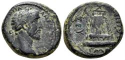 Ancient Coins - Kommagene. Zeugma. Antoninus Pius, 138-161 AD. AE 23mm (11.26 gm). RPC Online 8532
