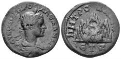 Ancient Coins - Cappadocia, Caesarea. Severus Alexander. 222-235 AD. AE 26mm (13.40 gm). Dated RY 7 (228/9 AD). Sydenham 581