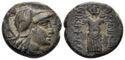 Ancient Coins - Mysia, Pergamon. Circa 2nd Century BC. AE 19mm (6.71 gm). SNG von Aulock 1374