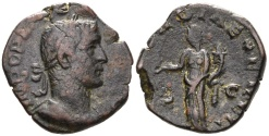 Ancient Coins - Gallienus. 253-268 AD. AE Sestertius (11.62 gm, 26mm). Rome mint. 1st emission, 253-254 AD. RIC V 209