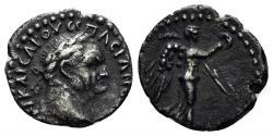 Ancient Coins - Cappadocia, Caesarea-Eusebia. Vespasian. 69-79 AD. AR Hemidrachm (1.79 gm, 14mm). RPC II 1659