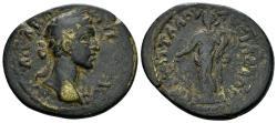 Ancient Coins - Phrygia, Lysias. Commodus, 177-192 AD. AE 28mm (7.70 gm). Fl. Attalos magistrate. SNG von Aulock 8423 (same dies). Very rare