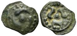 Ancient Coins - Celtic, Gaul. The Lingones. Circa 1st Century BC. Potin (2.99 gm, 19mm). de la Tour 8329
