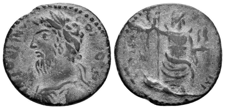 Ancient Coins - Pisidia, Antiocheia. Commodus. 180-192 AD. AE 21mm (4.84 gm). Cf. SNG PFPS 27