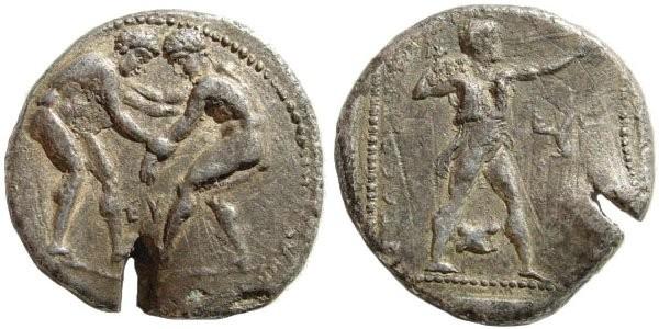 Ancient Coins - Pisidia, Selge. Circa 370 BC. AR Stater (9.31 gm). ACGC 1007. SNG Copenhagen 236. SNG von Aulock 5256