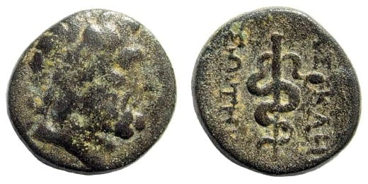 Ancient Coins - Palestine, 4th century BC, Group of four AR Obols. SNG ANS 17