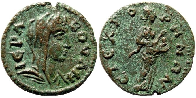 Ancient Coins - Phrygia, Stektorion. Time of Philip, 238-253 AD. AE 22mm (4.09 gm). Apparently unpublished reverse type