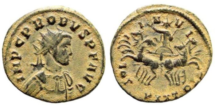Ancient Coins - Probus. 276-282 AD. Antoninianus (4.38 gm). Sisca mint. RIC 778