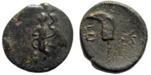 Ancient Coins - Pisidia, Etenna. 1st century AD. AE 18mm (3.62 gm). Hans von Aulock, Pisidiens, 516-27