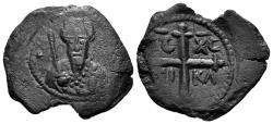 World Coins - Crusaders, Antioch. Tancred. Regent, 1101-03/ 1104-12. AE Follis (4.12 gm, 24mm). Metcalf, Crusades 63-70