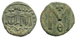 Ancient Coins - Michael II, 820-829 AD. AE Follis (3.76 gm, 18mm). Syracuse mint. Sear 1652