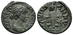 Ancient Coins - Phrygia, Ankyra. Faustina II, died AD 175, AE 18mm (4.06 gm). BMC 33-6