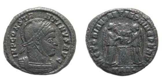 Ancient Coins - Constantine I, Follis, Arelate