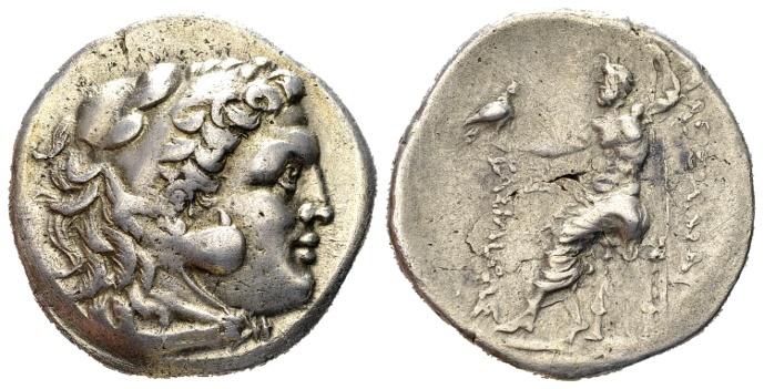 Ancient Coins - Macedonian Kindom. Bithynia, Kalchedon. Circa 260-220 BC. AR Tetradrachm (16.44 gm, 29mm). In the name and types of Alexander III of Macedon. Price 928 (Kallatis)