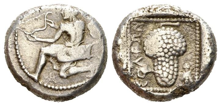 Ancient Coins - Kilikia, Soloi. Circa 440-410 BC. AR Stater (10.55 gm, 19mm). SNG France 128; SNG Levante 41. Rare