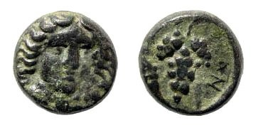 Ancient Coins - Caria, Kranaos. Circa 300-280 BC. AE 10mm (1.35 gm). SNG Keckman 219; Klein 535; A. Walker, Kranaos, A new mint in Caria, SM 112