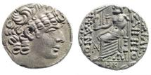 Ancient Coins - Syria, Seleucis and Pieria. Antioch. M. Vipsanius Agrippa. Proconsul, 23-13 BC. AR Tetradrachm (14.81 gm, 25mm). Dated year 28. RPC I 4144