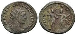 Ancient Coins - Gallienus. 253-268 AD. Antoninianus (3.02 gm, 21mm). Samosata mint. Struck 255-6 AD. Göbl 1681m