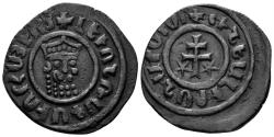 World Coins - Kingdom of Cilician Armenia. Levon I, 1198-1219. AE Tank (8.41 gm, 29mm). Nercessian 303
