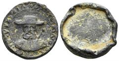 World Coins - Italia, Venezia (Venice). 16th-17th centuries. PB Theriac seal (9.54 gm, 24mm). Rare