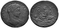 Ancient Coins - Seleucis and Pieria. Antioch. Elagabalus. 218-222 AD. AE 32mm (21.43 gm). Butcher 474 var