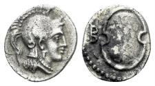 Ancient Coins - Kilikia, Tarsos. Balakros. 333-323 BC. AR Obol (0.70 gm, 11mm). SNG France 123